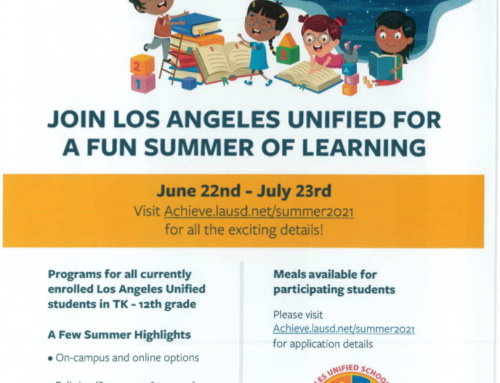 Join LAUSD Unified for a Fun Summer of Learning